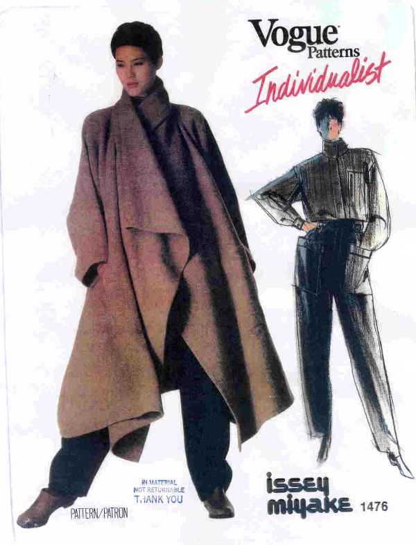 Pattern 1476, from 1984 and still in Vogue's catalog